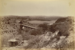 Sohawa Bridge on the Grand Trunk Road, Punjab [Bridge over the River Sohan near Rawalpindi]